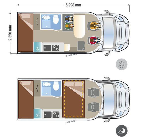 Autocaravana ILUSION XMK 590 L