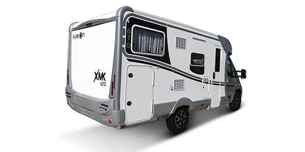 Autocaravana ILUSION XMK 670