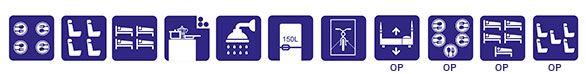 Autocaravana ILUSION XMK 670 caracteristicas