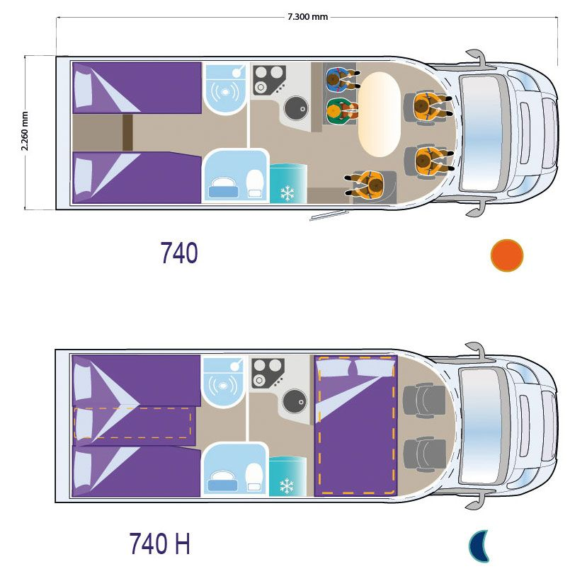 Autocaravana ILUSION XMK 740 H
