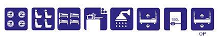 simbolos Autocaravana ILUSION XMK 650 PLUS